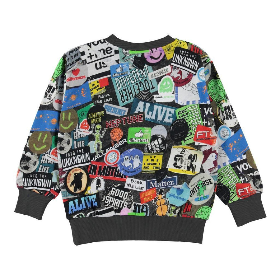 Molo Mik Stickers Sweatshirt