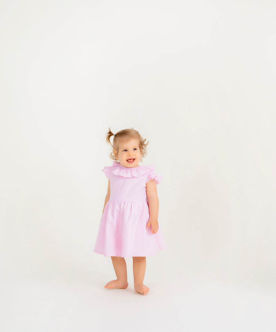 pinolini-pink-ribbon-dress-pnk001