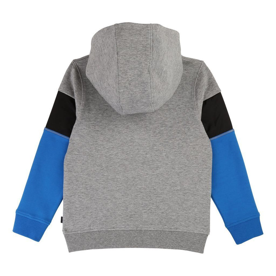 Boss Gray Blue Sweatshirt