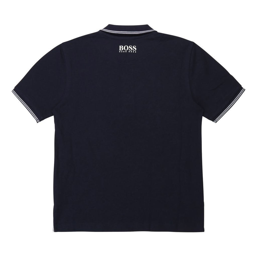 Navy Short Sleeve Polo