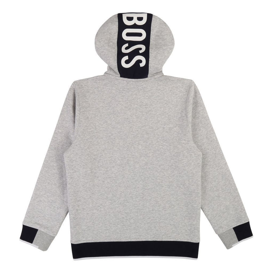 Boss Gray Hooded Cardigan