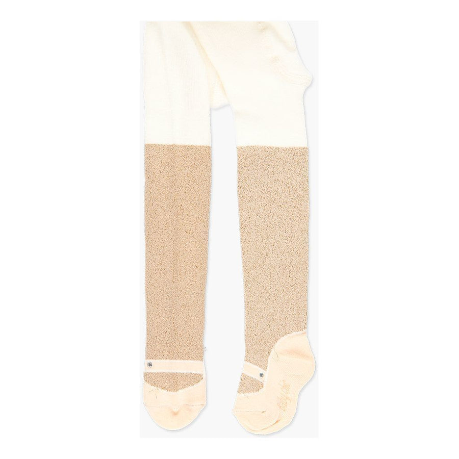 Boboli-708049-7334-beige-Thick tights for baby girl