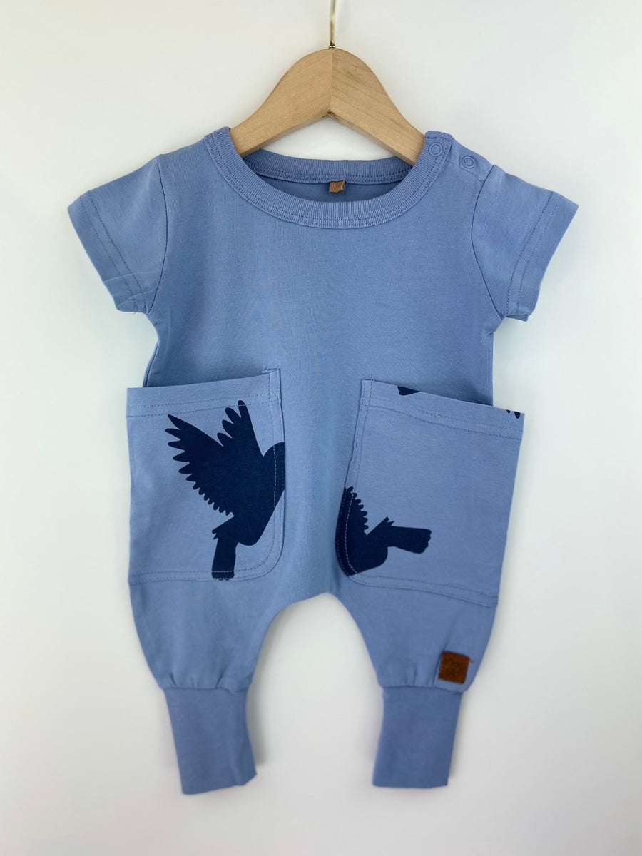 BLUE BIRDS BODYSUIT