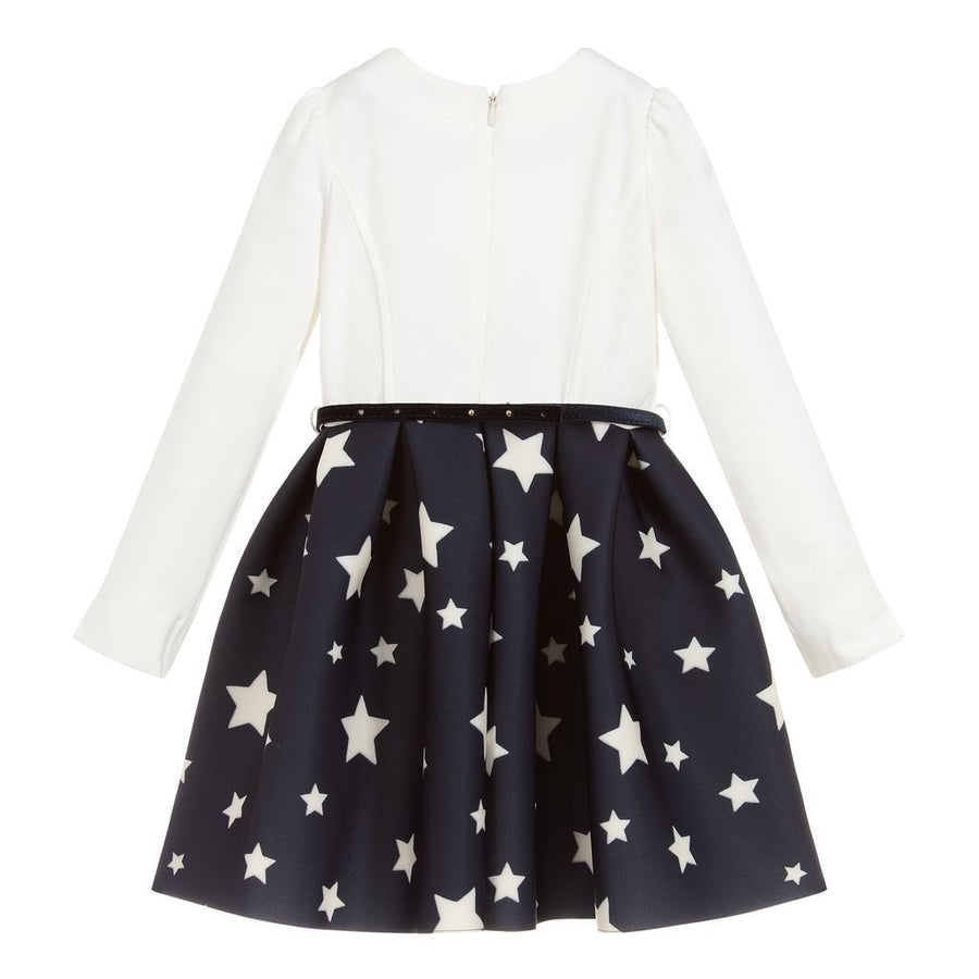 Navy White Star Dress