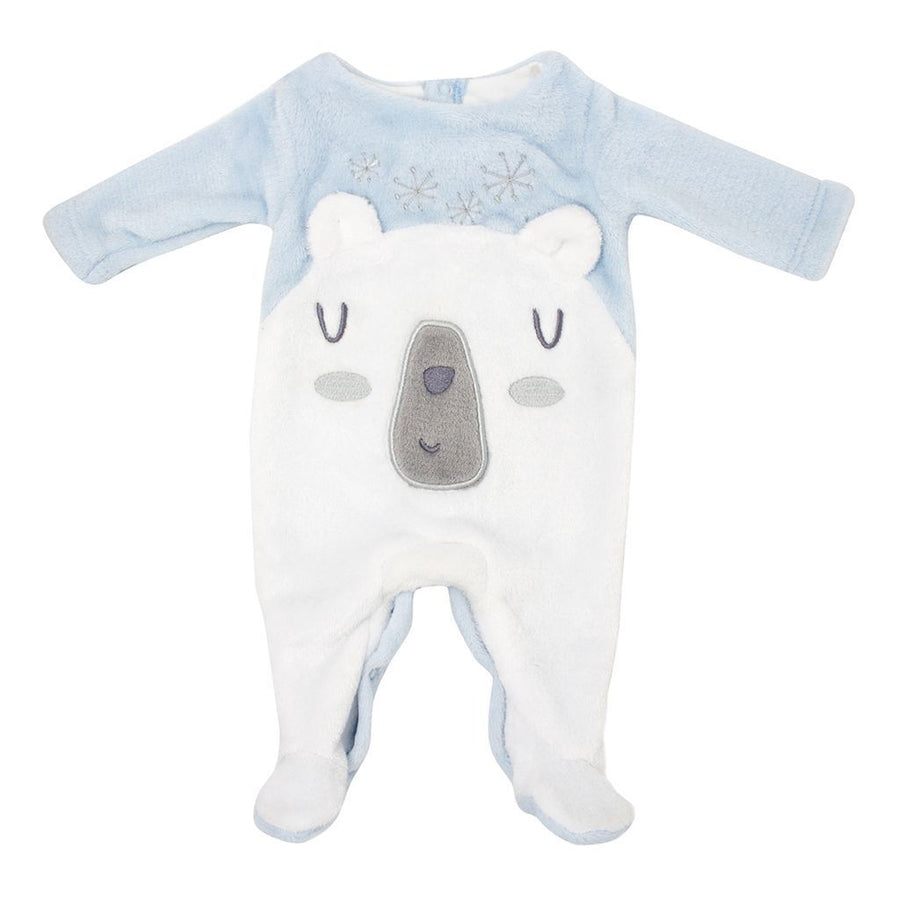 Powder Blue Polar Bear Bodysuit