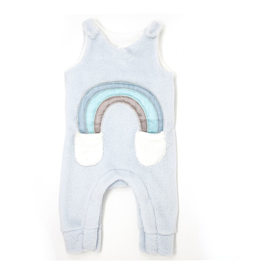 MILKTOLOGY-MILK467-RAINBOW ROMPER-POWDER BLUE