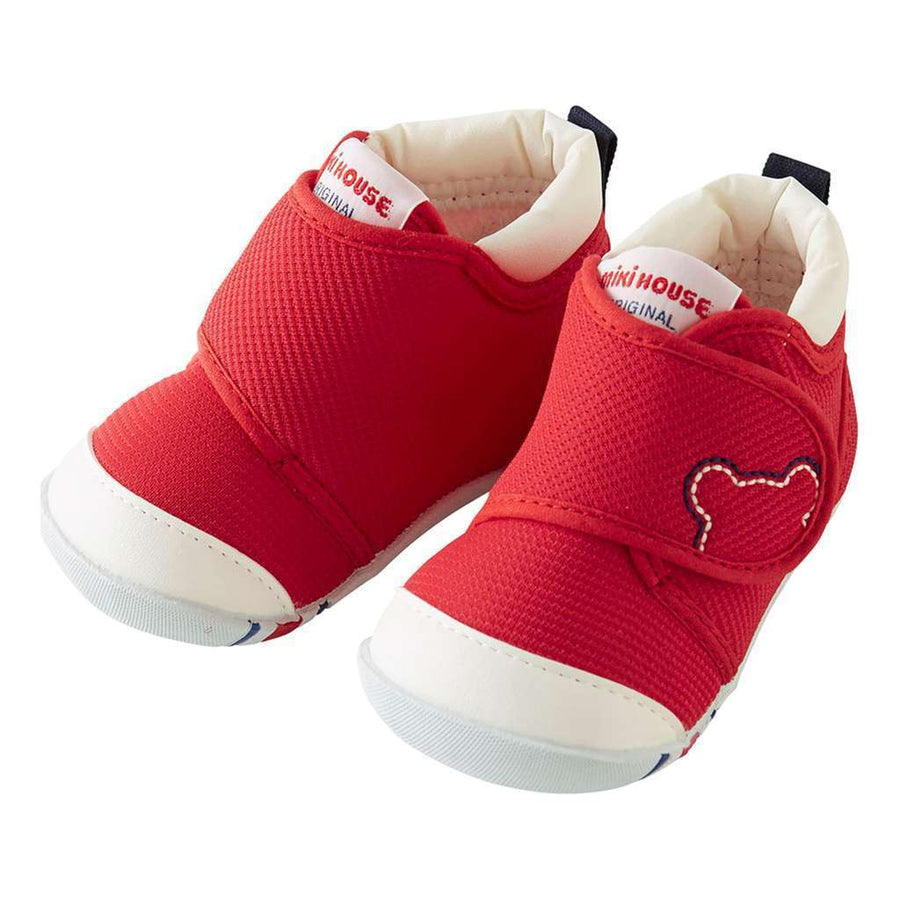 RED VELCRO STRAP SHOES
