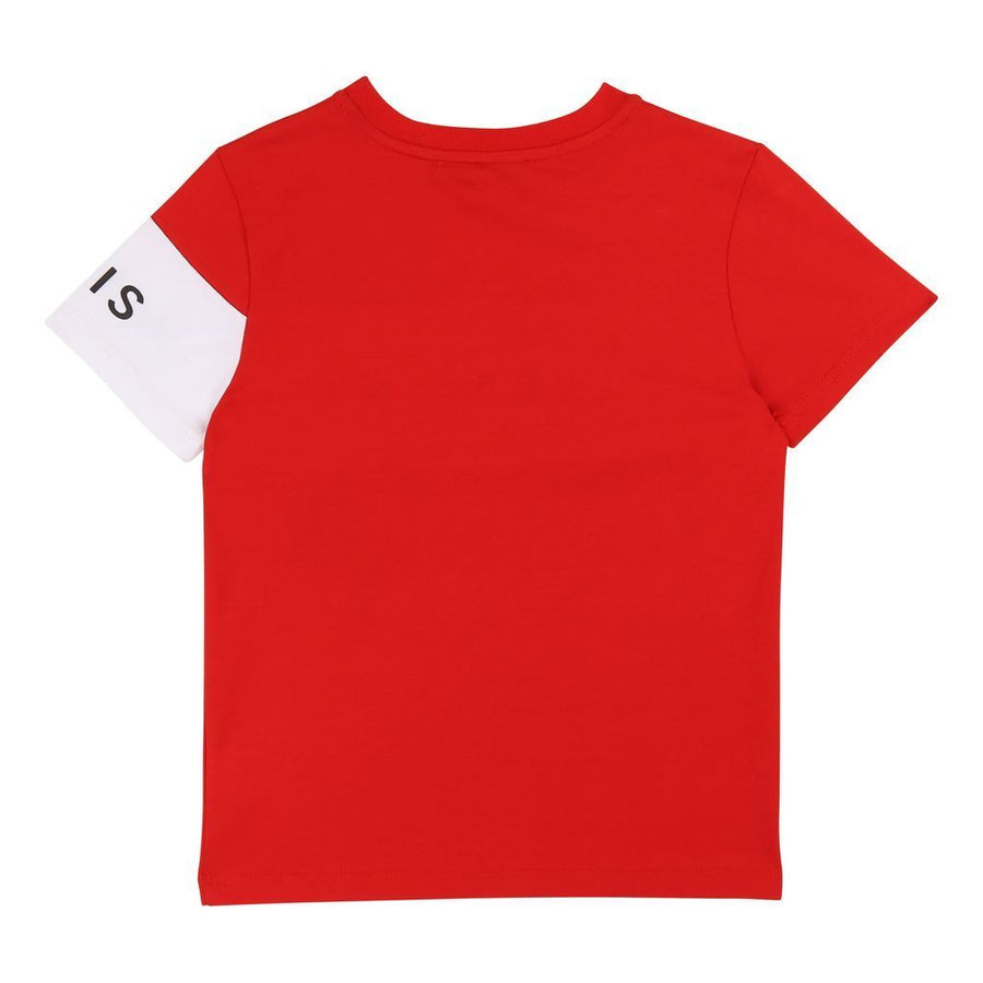 GIVENCHY-SHORT SLEEVES T-SHIRT-H25138-991 BRIGHT RED