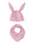 SNUG PINK BIB & HAT SET