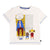Little Marc Jacob Off White Mr. Marc T-Shirt
