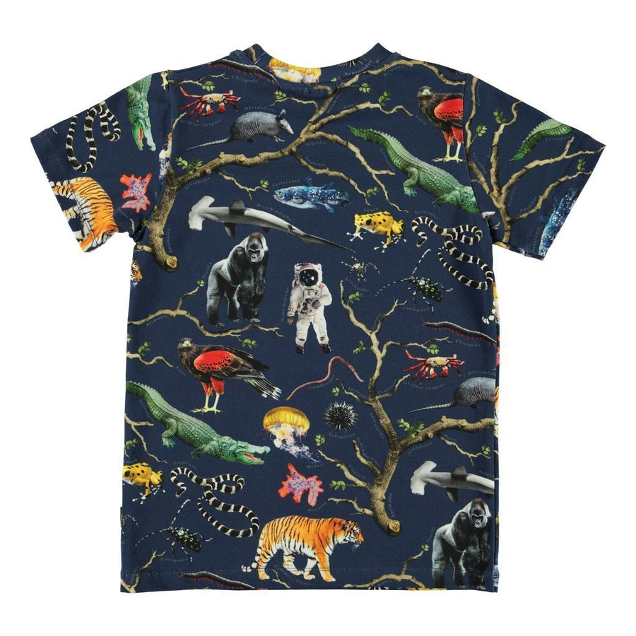 MOLO NAVY TREE OF LIFE RALPHIE T-SHIRT