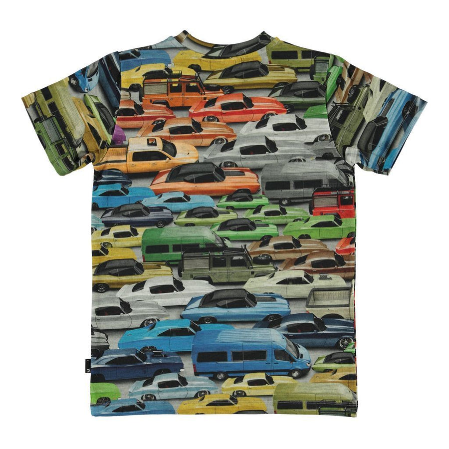 MOLO GRAY CARS RALPHIE T-SHIRT
