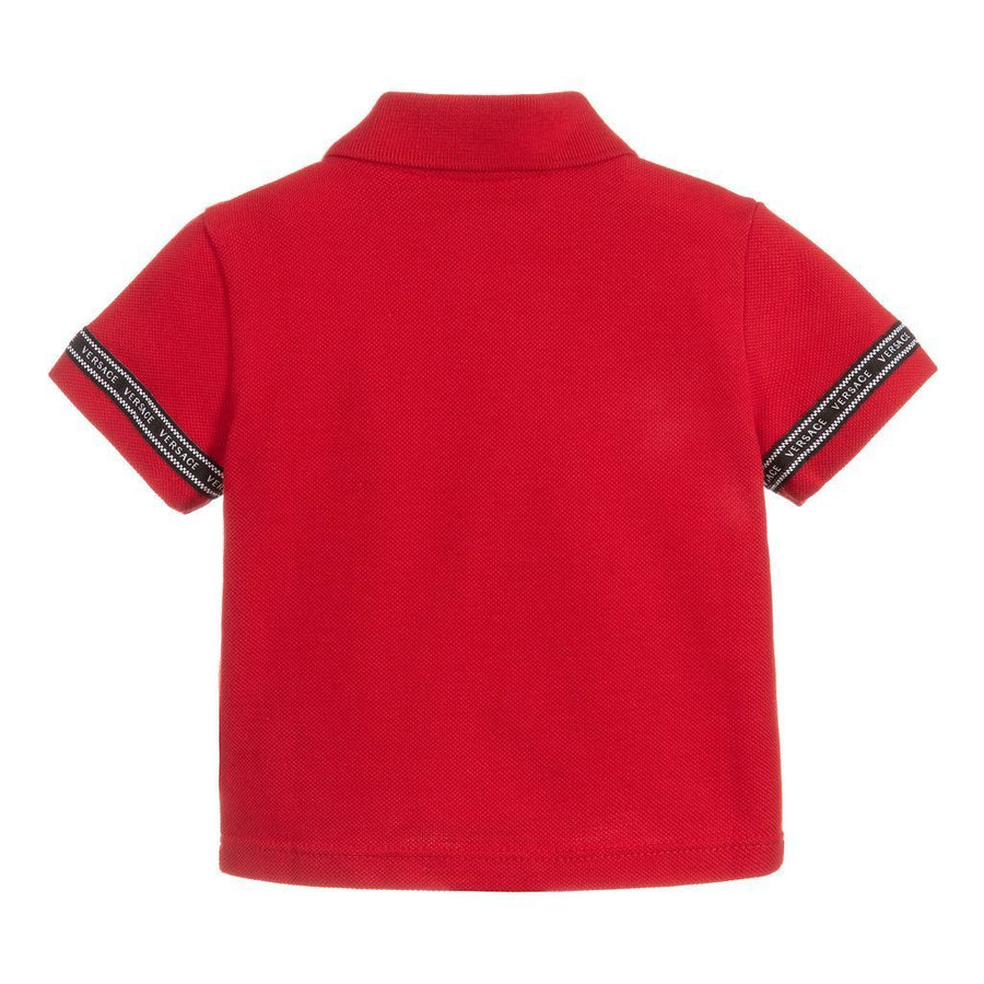 RED LOGO TAPE POLO