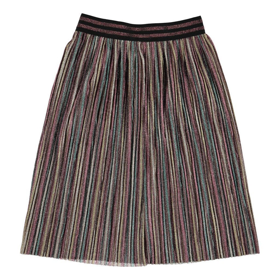 MOLO GRAY CHOCOLATE TRUFFLE SKIRT
