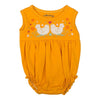 YELLOW CHICKEN BODYSUIT