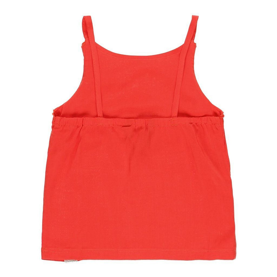 GIRLS RED TANK TOP