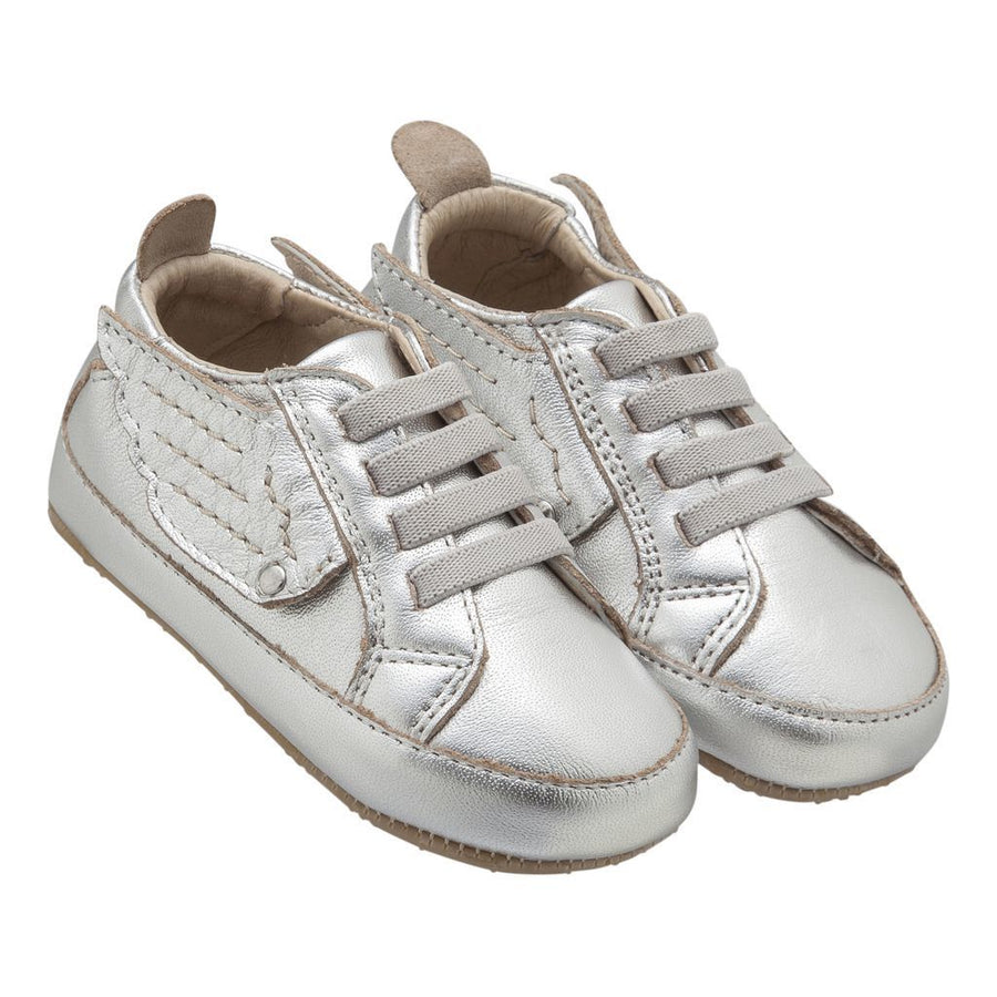 old-soles-silver-bambini-wing-shoes-121r
