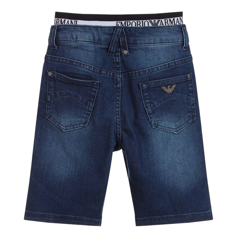 armani-blue-logo-waistband-denim-shorts-3h4s12-4dfnz-0941