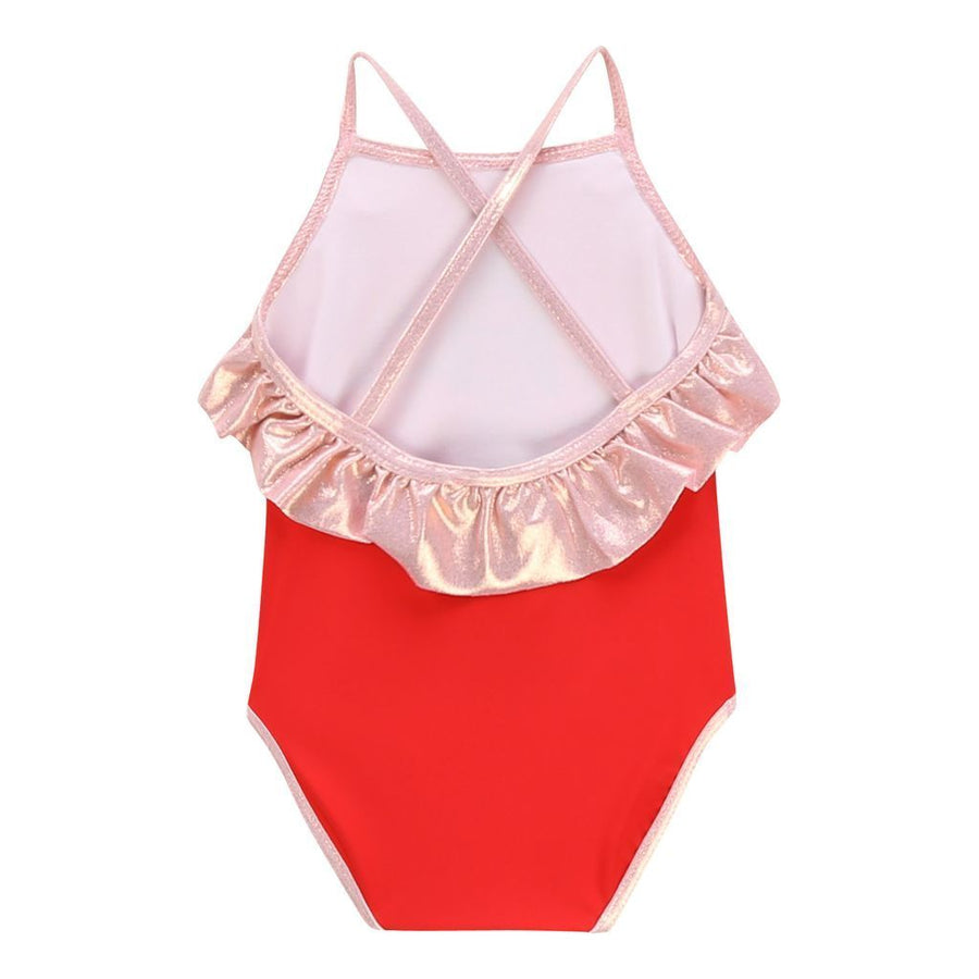 Ruffle Trim Swimsuit