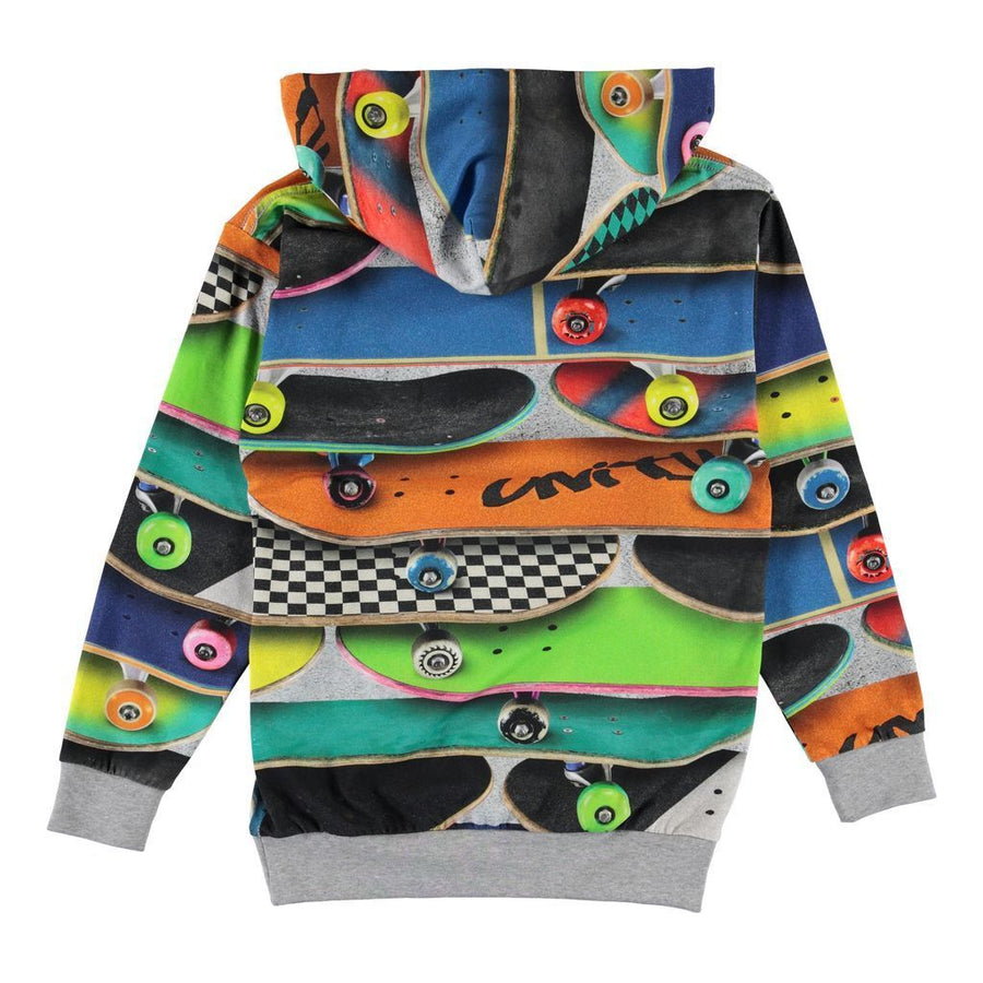 MULTI SKATEBOARD SWEATSHIRT