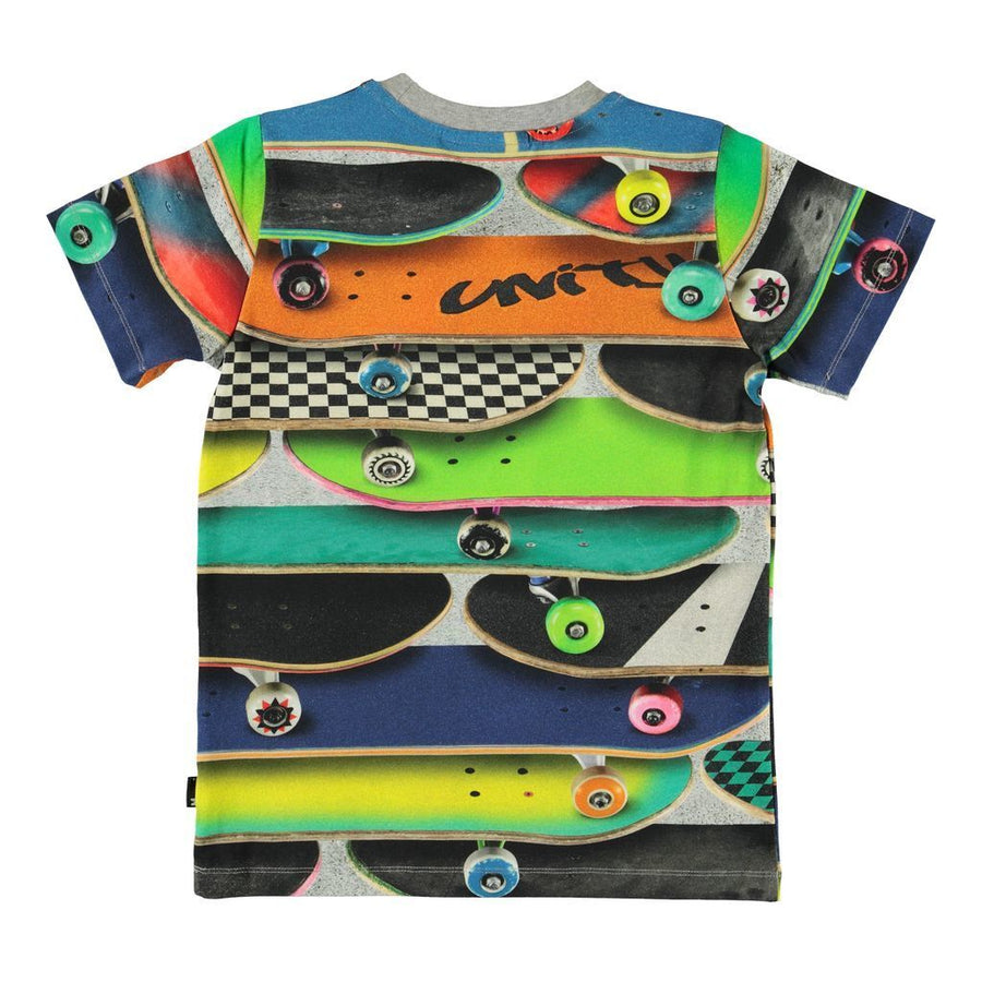 MULTI SKATEBOARD GRAPHIC T-SHIRT