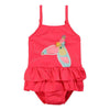 Billieblush Neon Pink One Piece Swimsuit