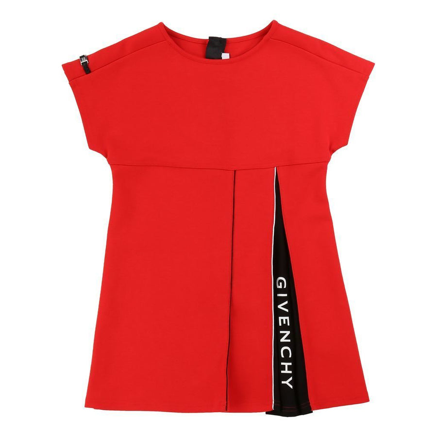 givenchy-red-short-sleeve-logo-dress-h12124-991