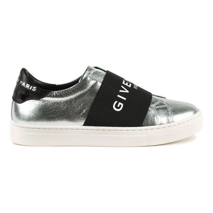 kids-atelier-givenchy-kids-children-girls-silver-logo-slip-on-trainers-h19026-079