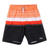 BOSS-SWIM SHORTS-J24652-R90 ORANGE/BLACK