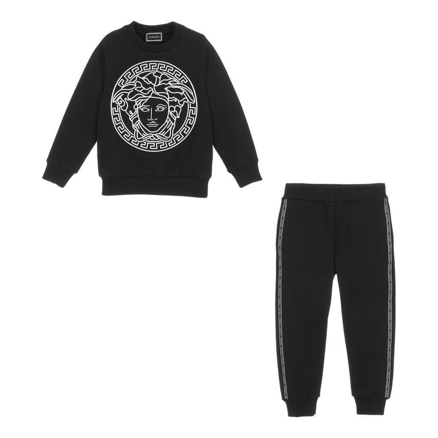 BLACK MEDUSA GRAPHIC TRACKSUIT