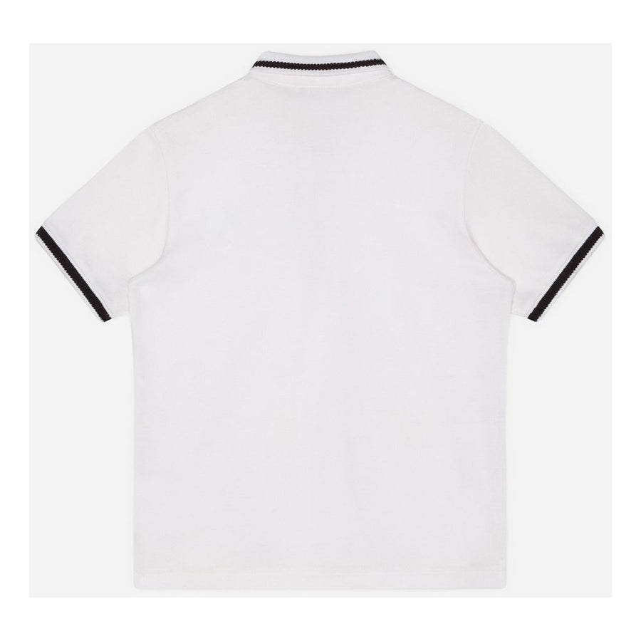 WHITE PLAIN POLO