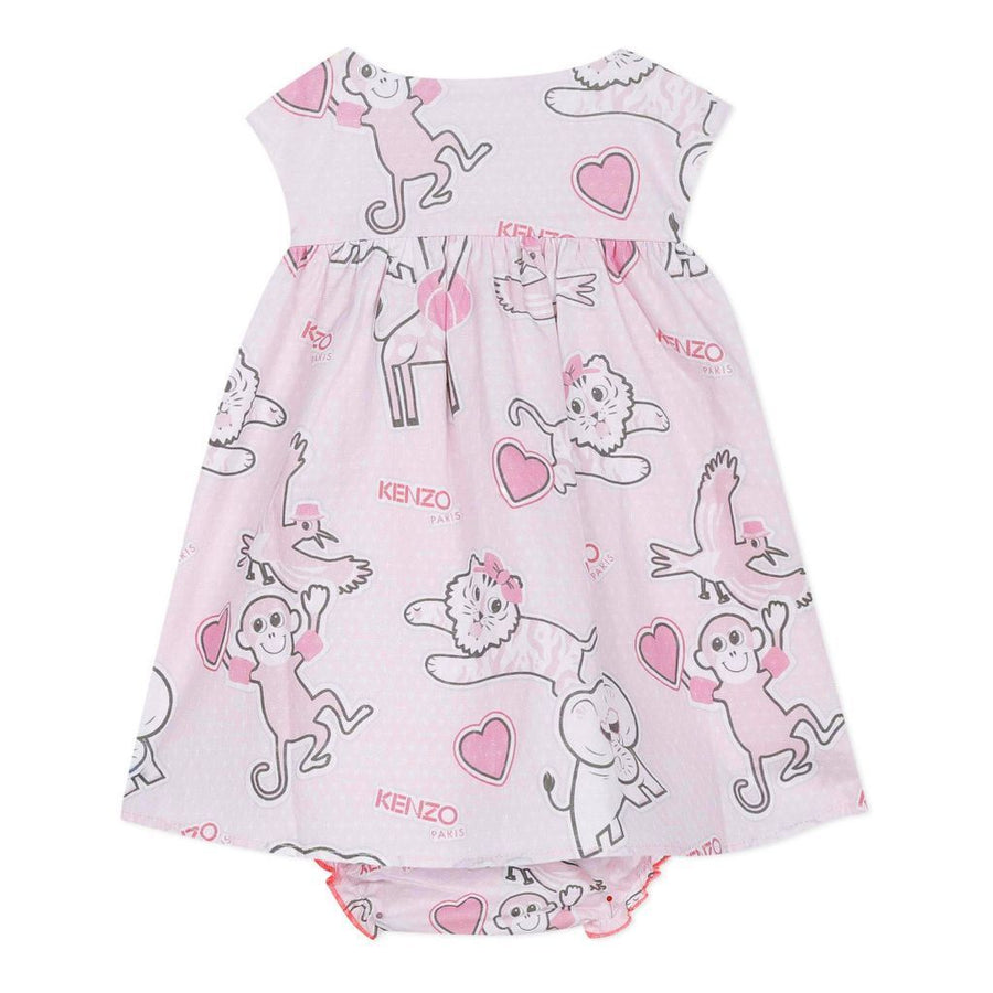 KENZO-KQ30013-312-BABY LIGHT PINK-DRESS