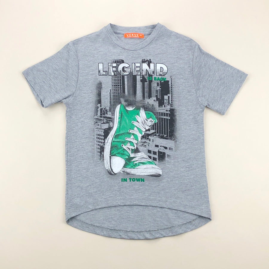 Gray Legend In Town T-Shirt