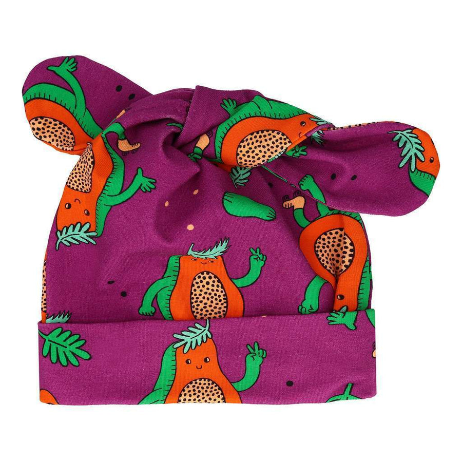 Papaya Power Knot Hat