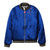 BLUE REVERSIBLE GOLDEN BOMBER JACKET