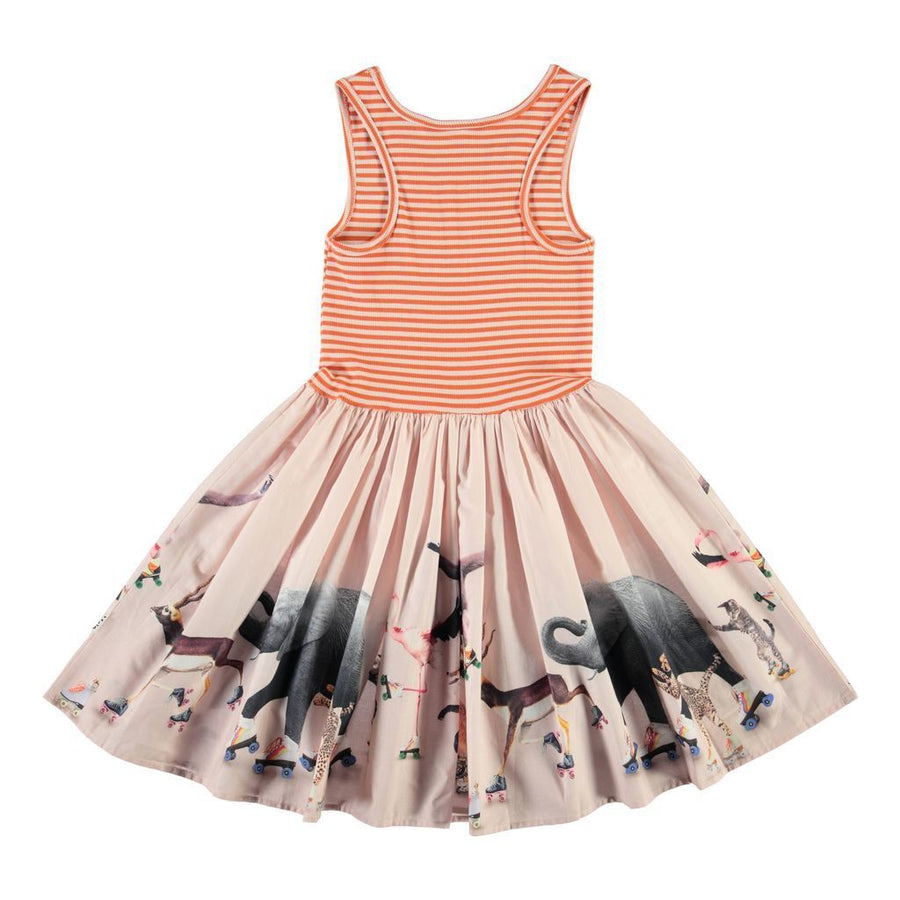 Cassandra Roller Skating Sleeveless Dress