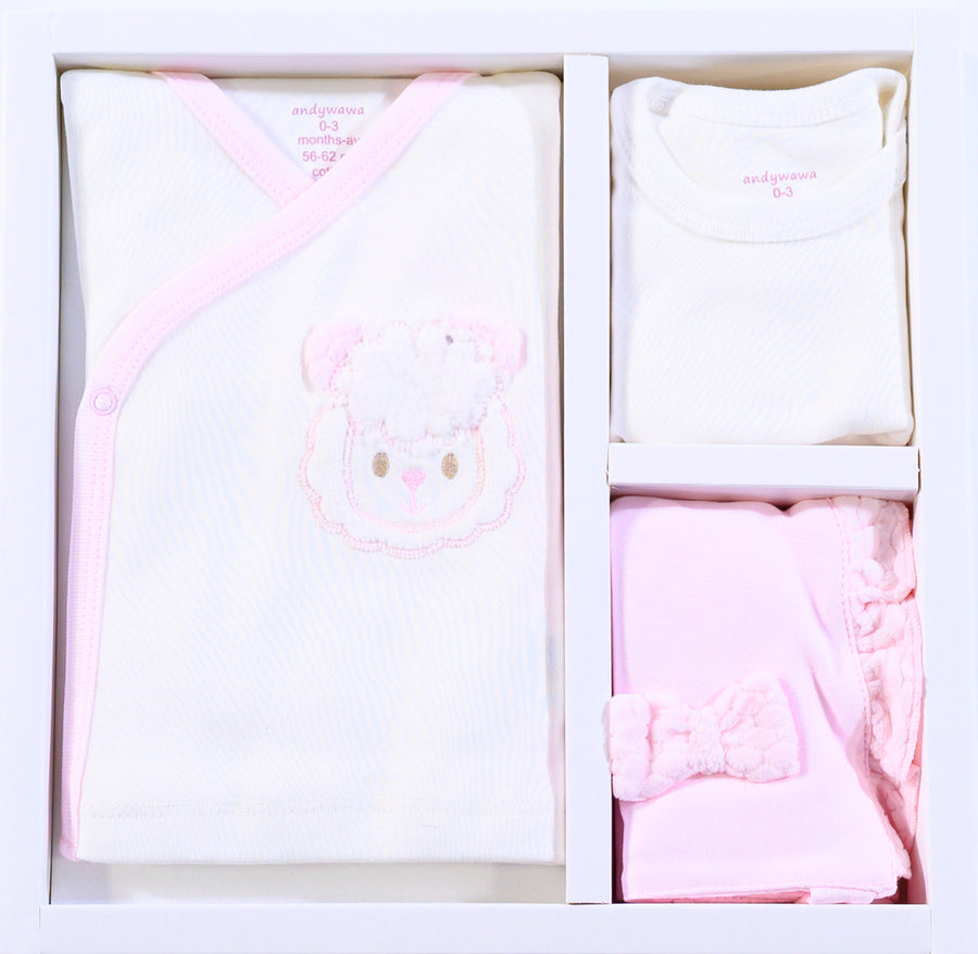 PINK 5 PC LITTLE SHEEP HOMECOMING SET