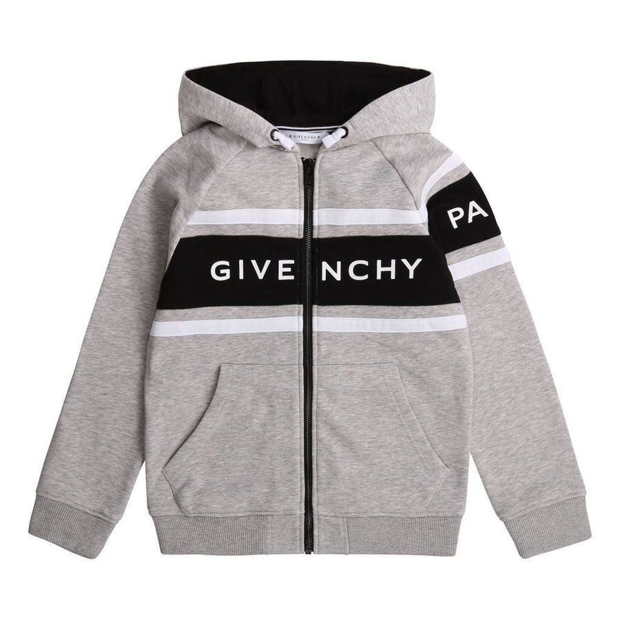 GIVENCHY-CARDIGAN SUIT-H25158-A01 GREY MARL