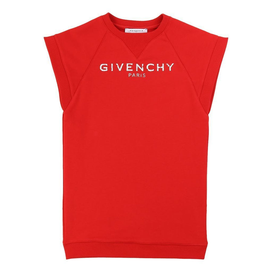 GIVENCHY-SS DRESS-H12110-991 BRIGHT RED