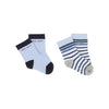 Bicolored And Striped Socks-Accessories-BOSS-17-White / Black-kids atelier