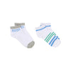 Boss 2 Pair White Striped Socks-Accessories-BOSS-kids atelier