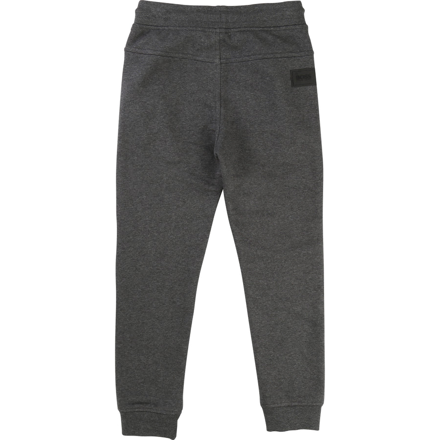 Boss Gray Sweat Pants-Pants-BOSS-kids atelier