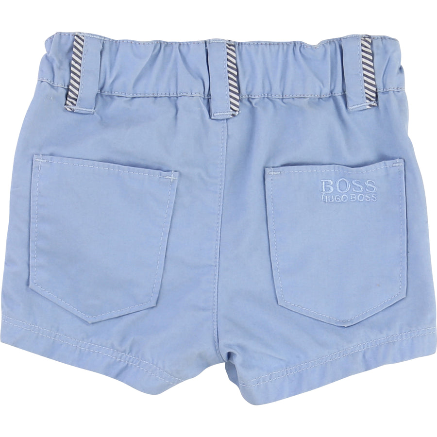Blue Shorts-Shorts-BOSS-kids atelier