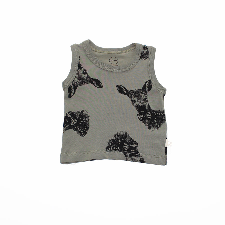 GREEN DEER TANK TOP SET