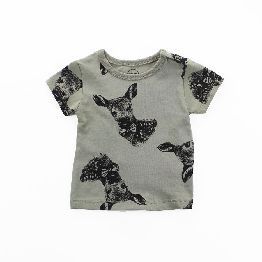 GREEN DEER T-SHIRT SET