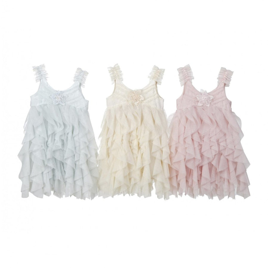 Luna Luna Odile Mesh Buttercup Dress-Dresses-Luna Luna-kids atelier