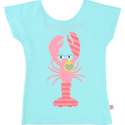 Aqua Lobster T-Shirt