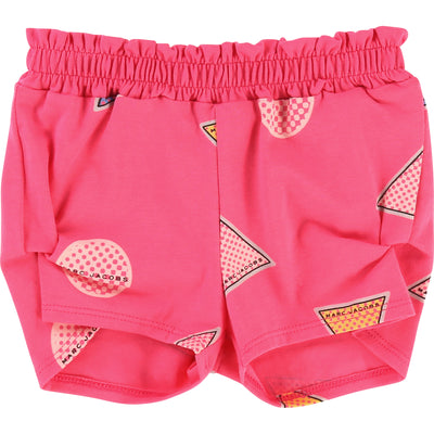 Little Marc Jacobs Pink Shapes Shorts-Shorts-Little Marc Jacobs-kids atelier
