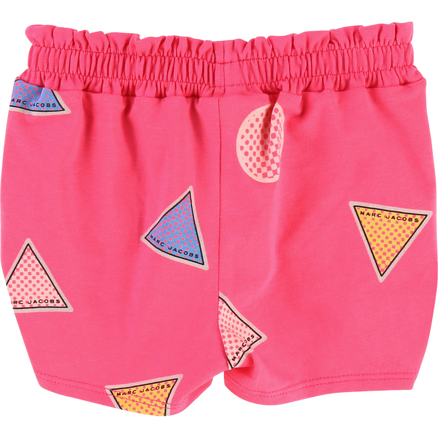 Little Marc Jacobs Pink Shapes Shorts