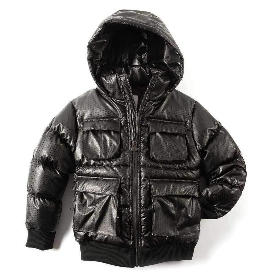 Appaman Black Diamond Puffer Coat